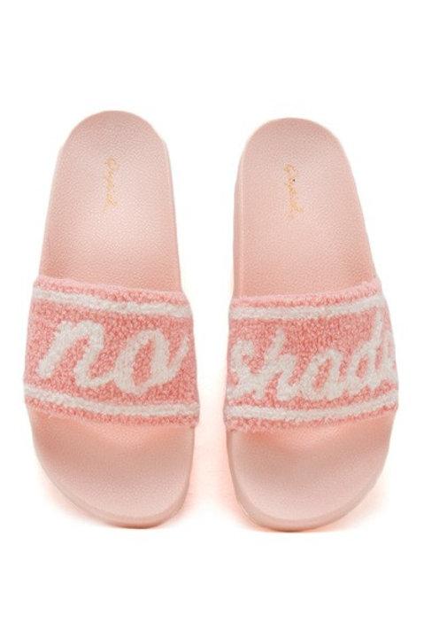 No shade slippers