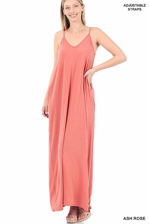 ash rose maxi dress