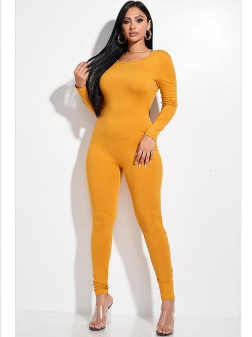 Mustard one piece