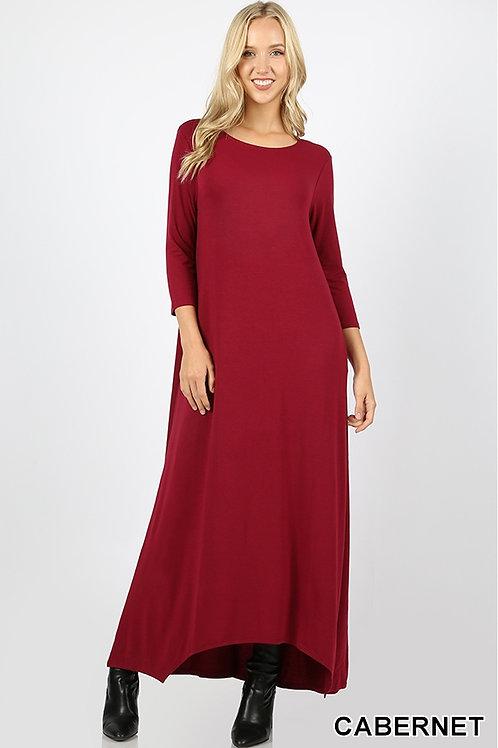 Cabernet full length dress