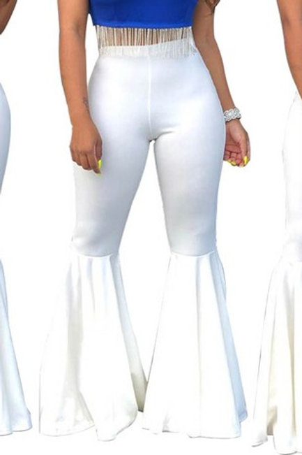 fuchsia bell pants