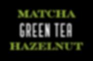 Matcha Green Tea Hazelnut Gelato