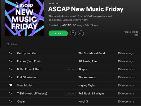 New Music Friday!