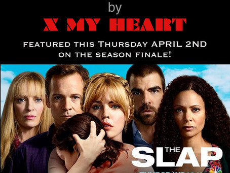 Song featured on the season finale of The Slap (NBC)!