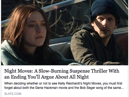 """Song """"Bulletproof"""" in new film, Night Moves"""