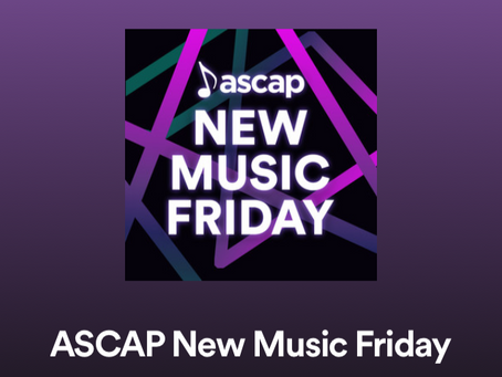 1983 on ASCAP's New Music Friday Playlist on Spotify