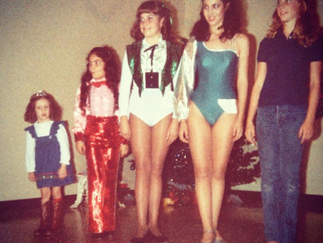 1980's beauty pageant.