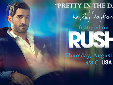 """Song """"Pretty in the Dark"""" on new show RUSH!!!!"""