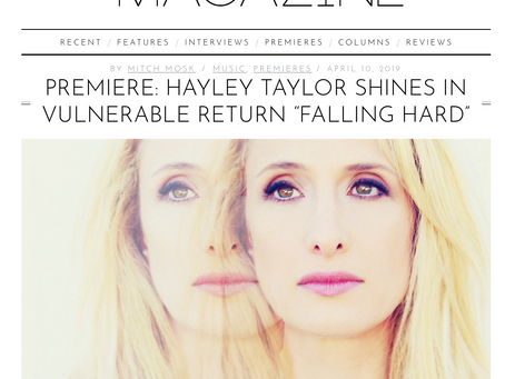 New song premiere on Atwood Magazine!