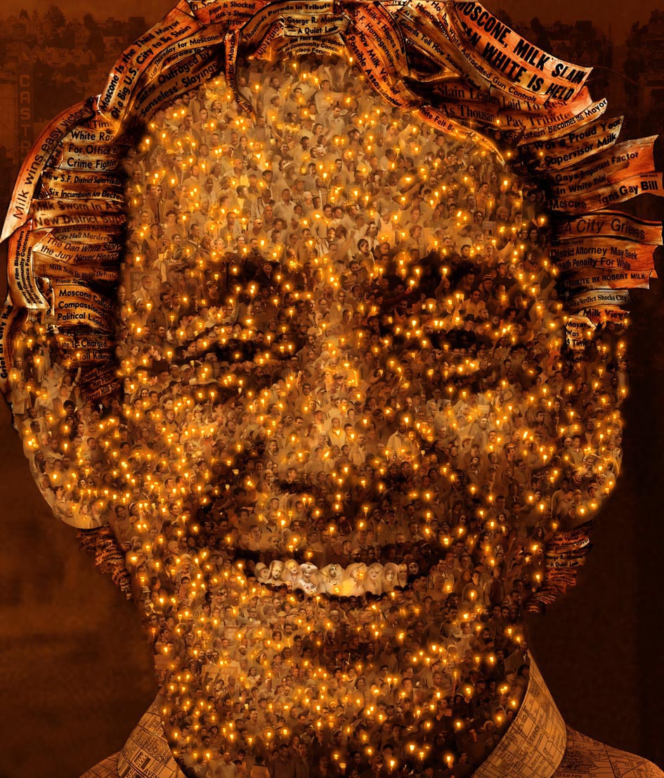 Harvey Milk Gay Art