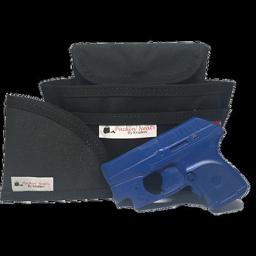 Mini - Black with Junior Holster (Subcompact/Revolver)