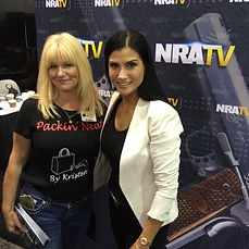 Dana Loesch & Kristen at the NRA