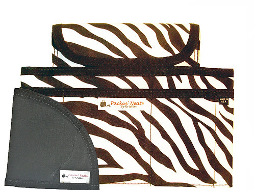 The Skinny - Zebra with Compact Holster
