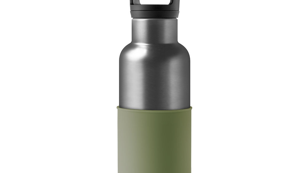 Titanium grey-Army Green 16 Oz