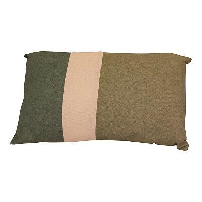 3 Panel Green Rectangular Scatter Cushion - Eucalyptus Range