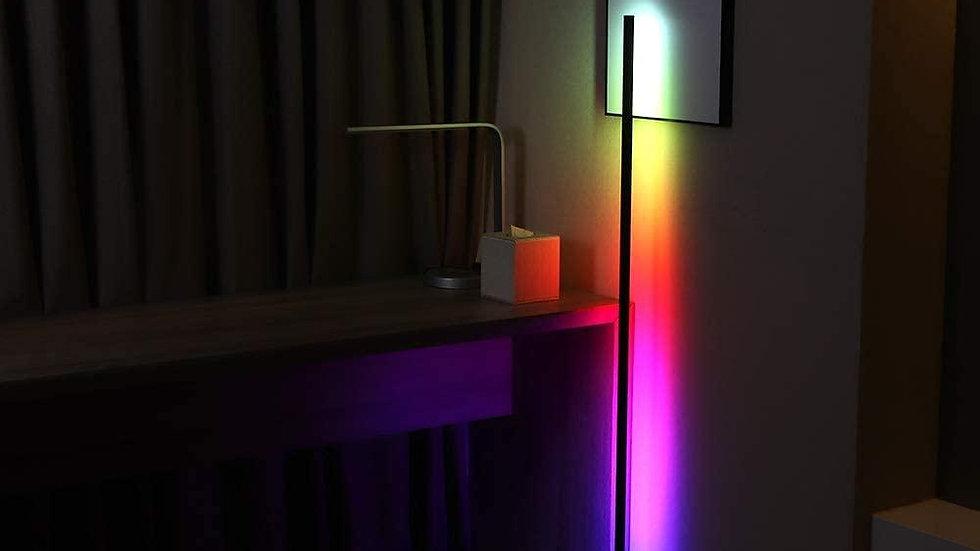 RGB Corner Floor Lamp Modern Simple LED Rod Floor Lamps Living Room