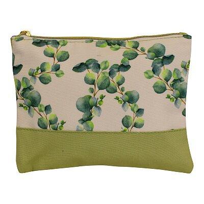 Eucalyptus Design Cosmetic Bag