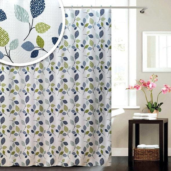 Blue Canyon Botanic Shower Curtain
