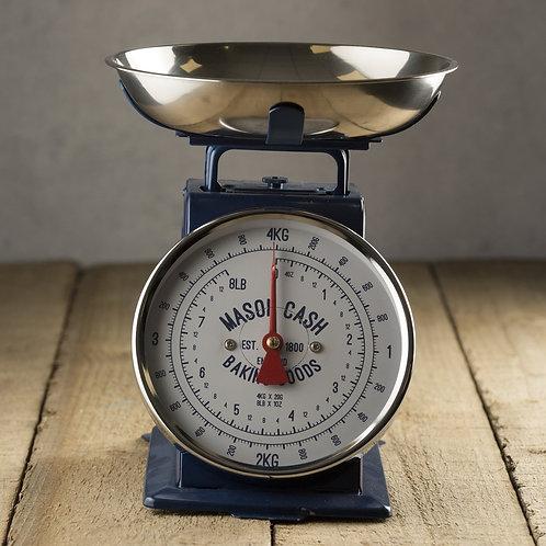 Mason Cash Retro Style Kitchen Scales in kitchen