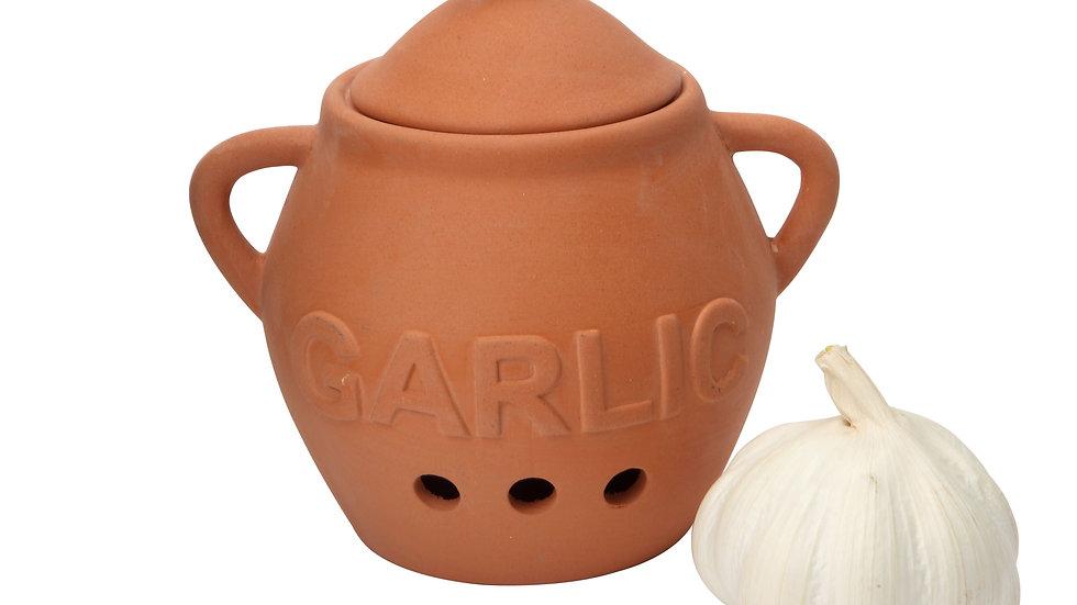Terracotta Garlic Keeper By Dexam