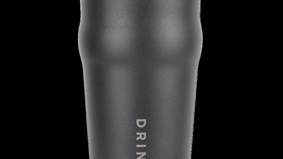 DRINCO 20oz Insulated Tumbler Beer Mug-Bottle Opener THOR-(Jet Black)
