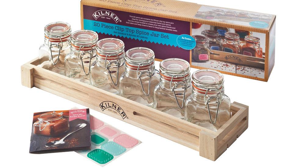 Kilner Spice Jar Giftset - 20 Piece