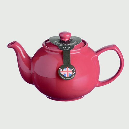 Price & Kensington Brights Teapot 6 Cup Red