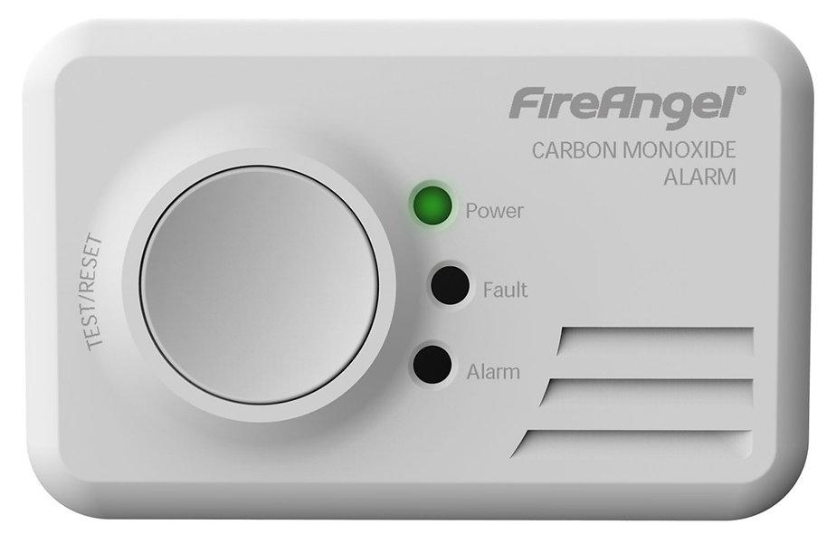 Carbon Monoxide Alarm - Fire Angel 7 Year Life