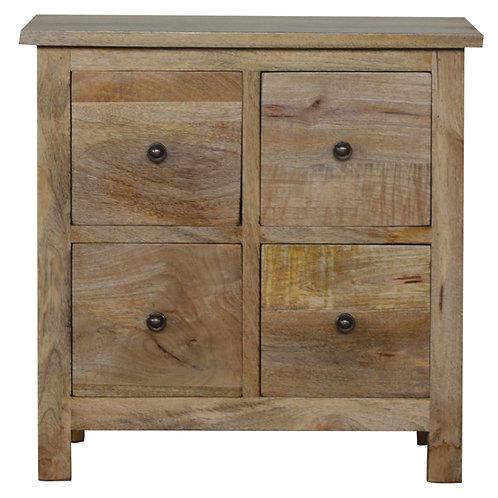 4 Drawer Mini Cabinet