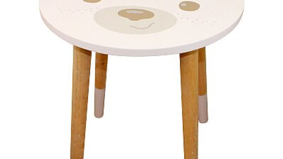 Baby Bear Wooden Side Table