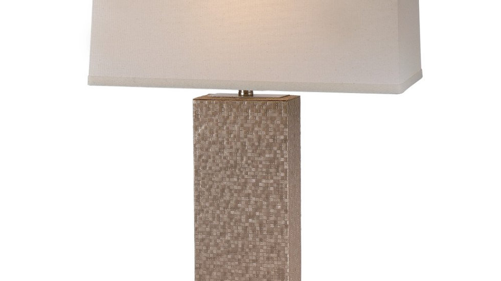 "Merge 1-Light 30""h Table Lamp in Brushed Nickel Finish TT7447 by Trend"