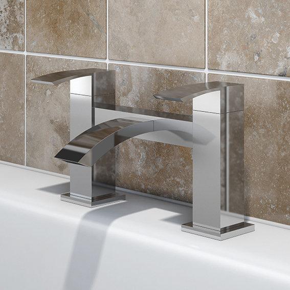 SP Aero Bath Mixer Tap installed