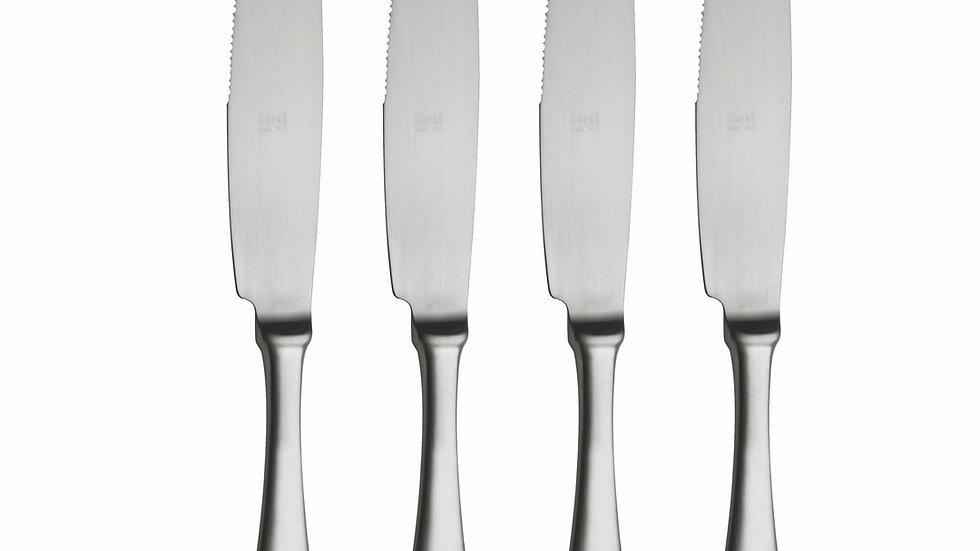 AMERICAN STEAK KNIFE SET OF 4 ICE