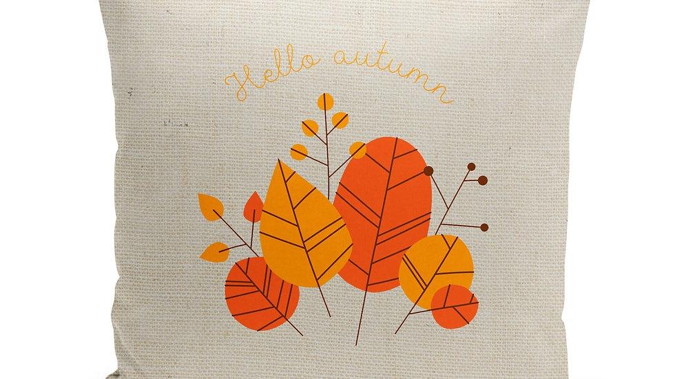Hello Autumn Pillow Cover
