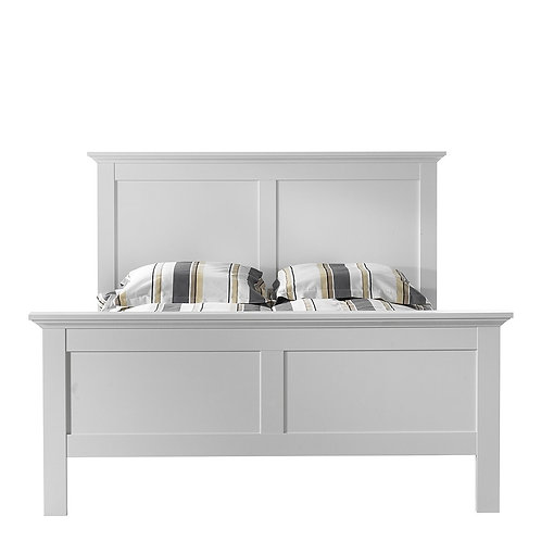 Paris Beds in Matt Grey - White or Matt Grey Laminate