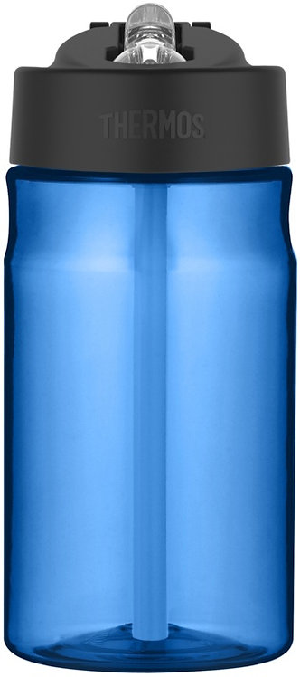 Thermos Hydration Bottle with Straw - Blue - 355ml
