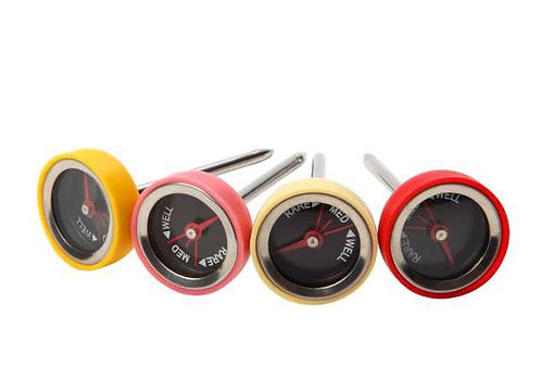 Dexam Steak Thermometer - Set of 4