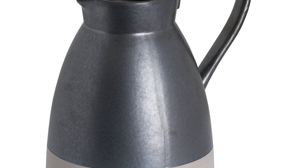 Hill Interiors Metallic Grey Tall Jug