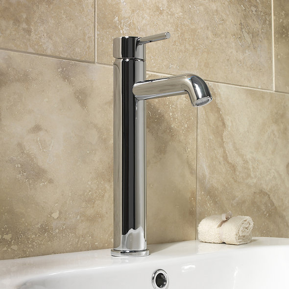 SP Spiral Extended Basin Mixer Tap