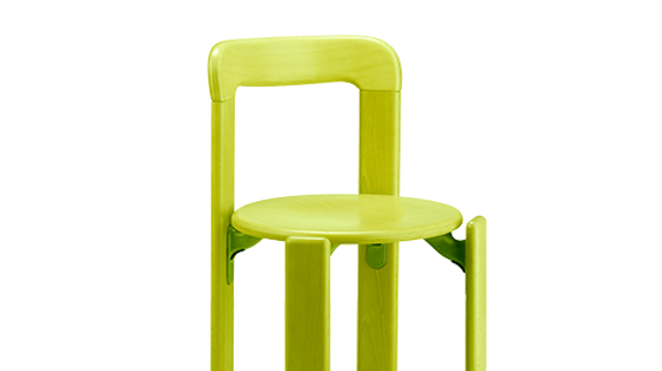 Children Chair - Swiss Design Classic - Solid Beech Wood (Green)