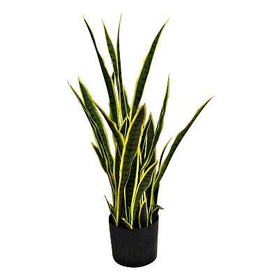 Artificial Sansweieria Plant, 32 leaves - 100cm tall
