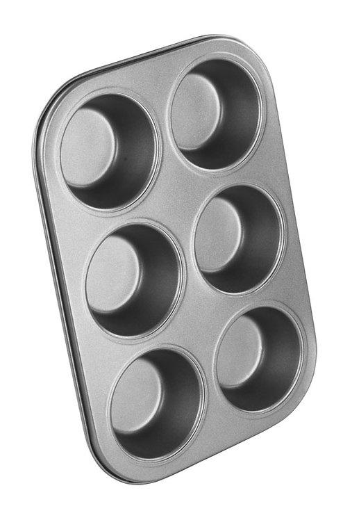 Chef Aid Non Stick Muffin Tray 6 cup