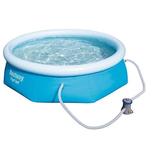 Bestway Fast Set Pool - 8ft wide x 26inch high (approx 244cm x 66 cm)