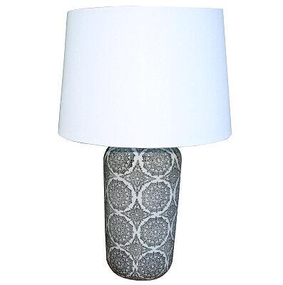 Retro style Black Mandala Lamp - 63.5cm