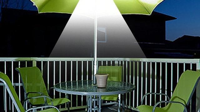 YWXLight Patio Umbrella Light Cordless 28 LED