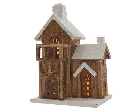 LED Wood Balcony House