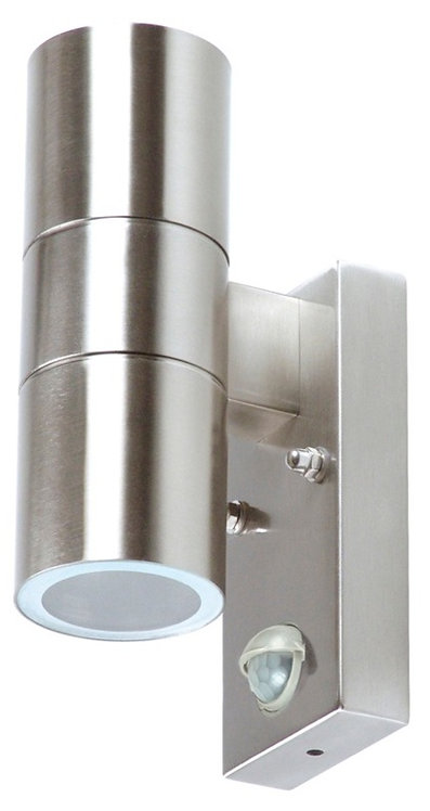 Elro Stainless Up Downlight With PIR IP44