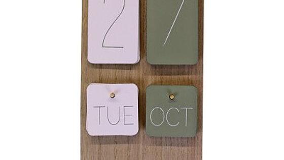 Wall Hanging Calendar - Eucalyptus Range