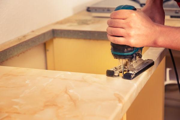 Built-in Cooker installatio