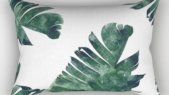 Leaf Rectangle Pillow